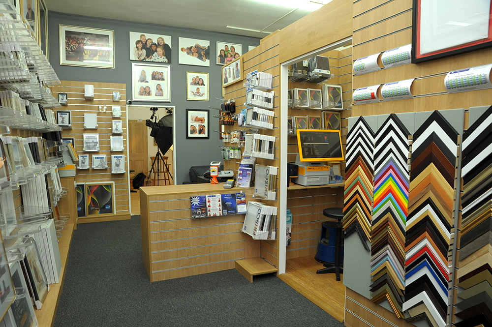 Our Framing Shop in Fleet